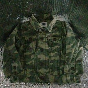 28cd8ab15067b Old Navy Jackets & Coats - Old navy boy's army fatigue camouflage jacket